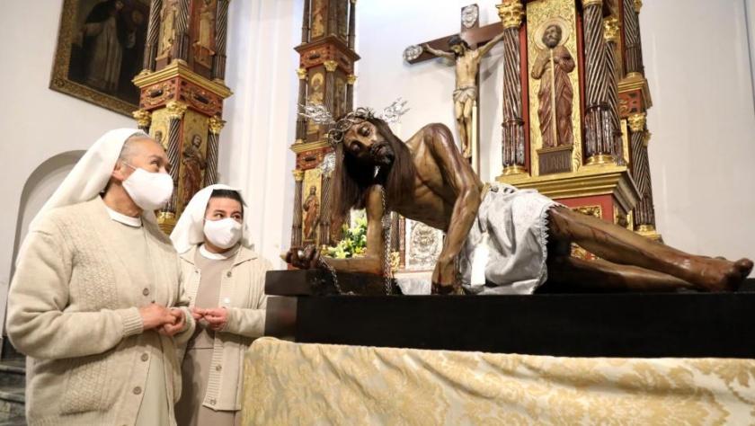 Señor caído de Monserrate en Fontibon