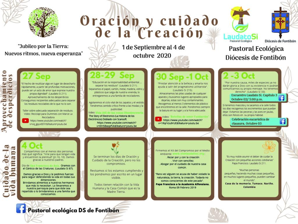 Cronograma Tiempo de la Creación 3