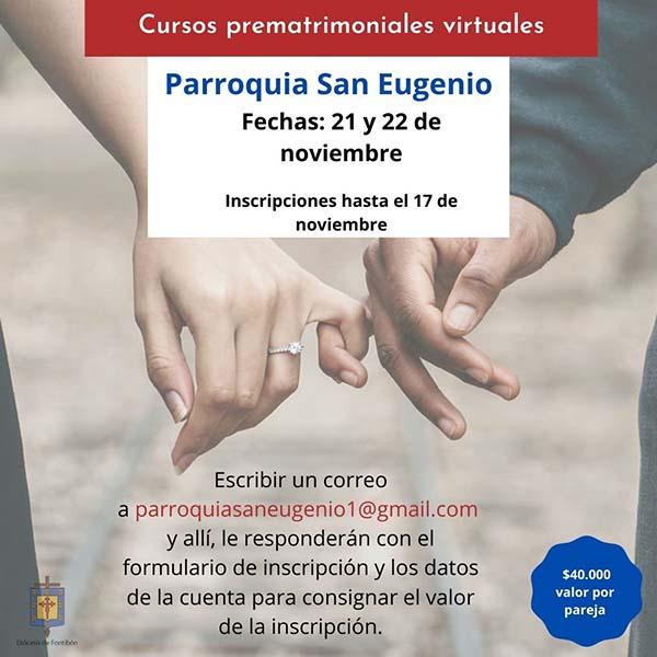Curso prematrimonial San Eugenio noviembre
