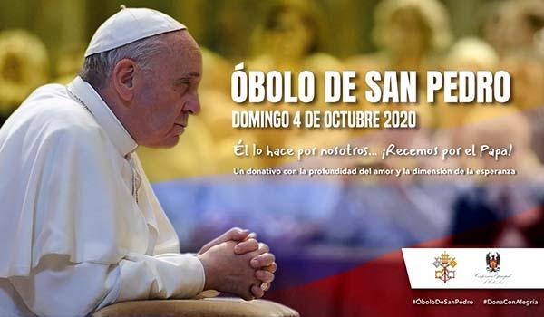 Colecta del Óbolo de San Pedro 2020